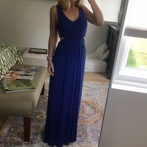 Cut out maxi dress